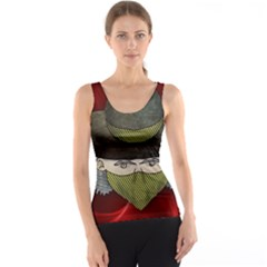 Illustration Drawing Vector Color Tank Top