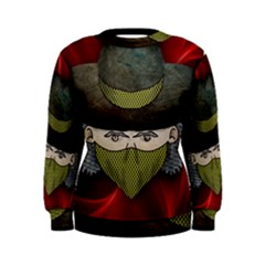 Illustration Drawing Vector Color Women s Sweatshirt