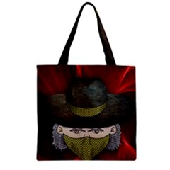 Illustration Drawing Vector Color Zipper Grocery Tote Bag