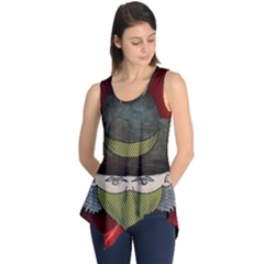Illustration Drawing Vector Color Sleeveless Tunic