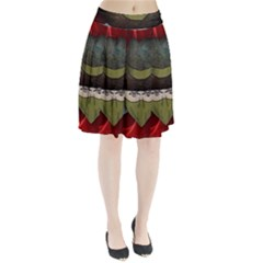Illustration Drawing Vector Color Pleated Skirt