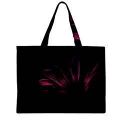 Purple Flower Pattern Design Abstract Background Zipper Mini Tote Bag