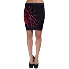Pattern Design Abstract Background Bodycon Skirt