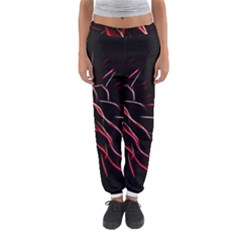 Pattern Design Abstract Background Women s Jogger Sweatpants