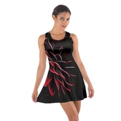Pattern Design Abstract Background Cotton Racerback Dress