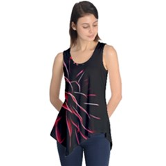 Pattern Design Abstract Background Sleeveless Tunic