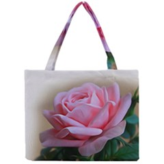Rose Pink Flowers Pink Saturday Mini Tote Bag