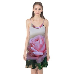 Rose Pink Flowers Pink Saturday Camis Nightgown