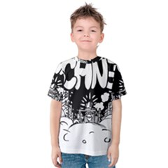 Snow Removal Winter Word Kids  Cotton Tee