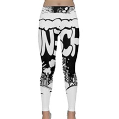 Snow Removal Winter Word Classic Yoga Leggings