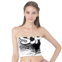 Snow Removal Winter Word Tube Top