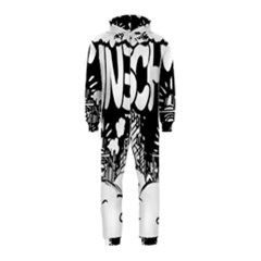 Snow Removal Winter Word Hooded Jumpsuit (Kids)