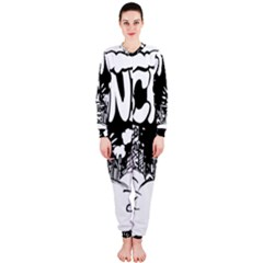 Snow Removal Winter Word Onepiece Jumpsuit (ladies)