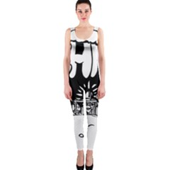 Snow Removal Winter Word Onepiece Catsuit