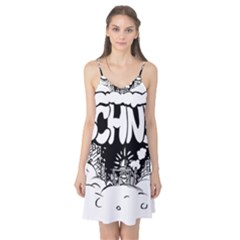 Snow Removal Winter Word Camis Nightgown
