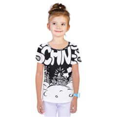 Snow Removal Winter Word Kids  One Piece Tee