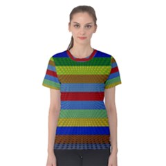 Pattern Background Women s Cotton Tee