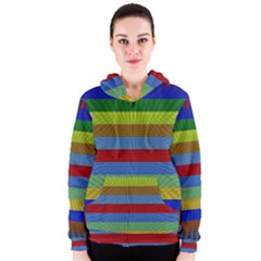 Pattern Background Women s Zipper Hoodie