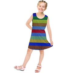 Pattern Background Kids  Tunic Dress