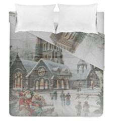 Santa Claus Nicholas Duvet Cover Double Side (queen Size)