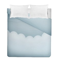 Soft Pure Backgrounds Duvet Cover Double Side (full/ Double Size)