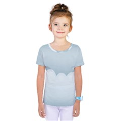 Soft Pure Backgrounds Kids  One Piece Tee
