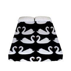 Swan Animals Fitted Sheet (full/ Double Size)