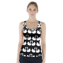 Swan Animals Racer Back Sports Top