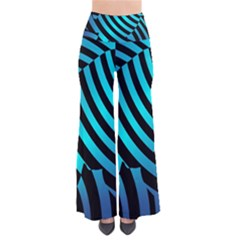 Turtle Swimming Black Blue Sea Pants