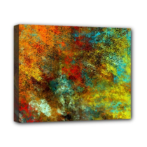 Mixed Abstract Canvas 10  x 8