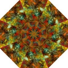 Mixed Abstract Folding Umbrellas