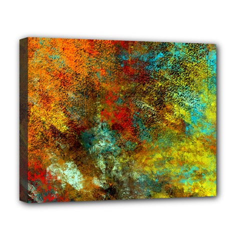 Mixed Abstract Deluxe Canvas 20  X 16