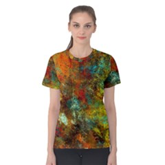 Mixed Abstract Women s Cotton Tee