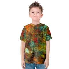 Mixed Abstract Kids  Cotton Tee