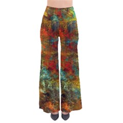 Mixed Abstract Pants
