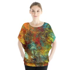 Mixed Abstract Blouse