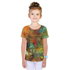 Mixed Abstract Kids  One Piece Tee