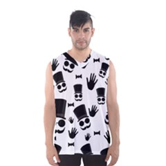Gentleman Pattern Men s Basketball Tank Top