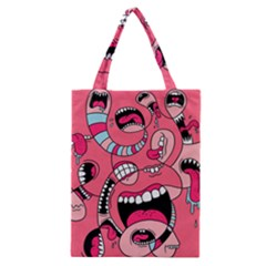 Big Mouth Worm Classic Tote Bag