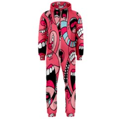 Big Mouth Worm Hooded Jumpsuit (men)
