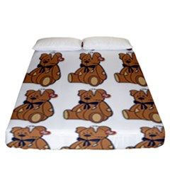 Bear Fitted Sheet (california King Size)