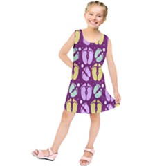 Soles Of The Feet Kids  Tunic Dress