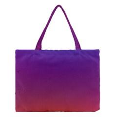 Purple Orange Blue Medium Tote Bag
