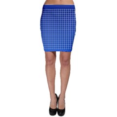 Background Diamonds Computer Paper Bodycon Skirt