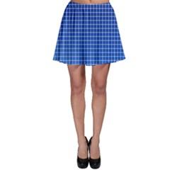 Background Diamonds Computer Paper Skater Skirt