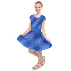 Background Diamonds Computer Paper Kids  Short Sleeve Dress
