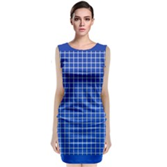 Background Diamonds Computer Paper Sleeveless Velvet Midi Dress