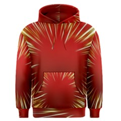 Color Gold Yellow Background Men s Pullover Hoodie