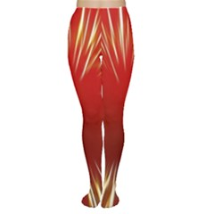 Color Gold Yellow Background Women s Tights