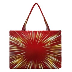 Color Gold Yellow Background Medium Tote Bag